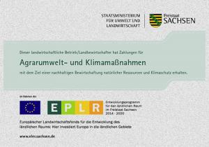 ELER Agrarumwelt- und Klimamaßnahmen (c) www.eler.sachsen.de